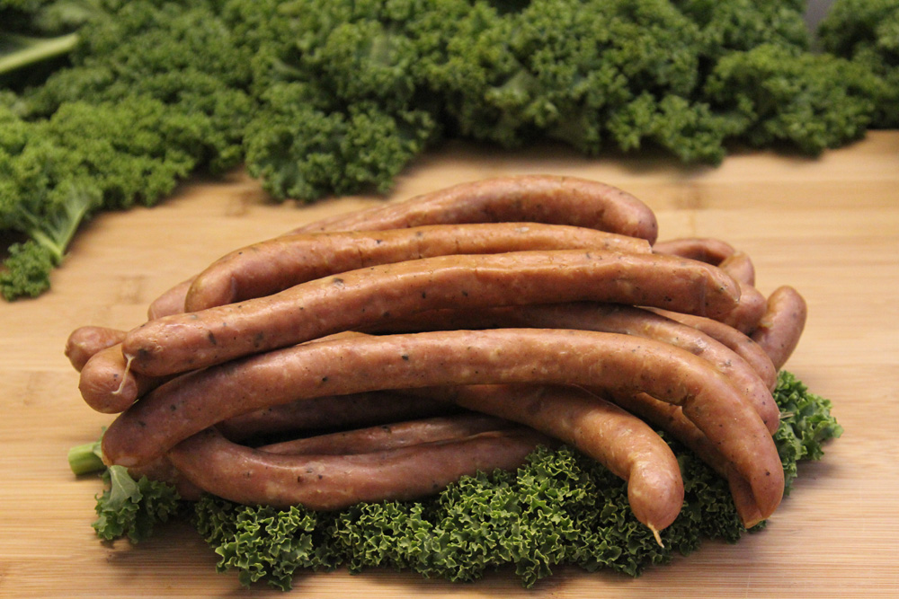 Thin Dry Smoked Poultry Sausages